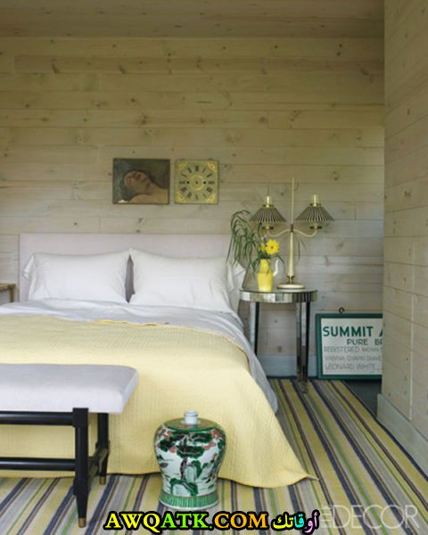 غرفة نوم قمة الهدوء شيك جداً