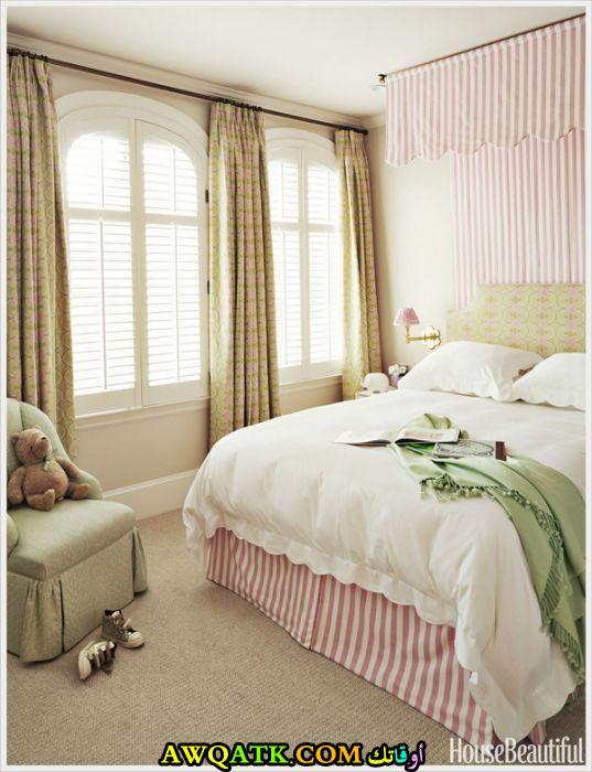 غرفة نوم في منتهي الشياكة والهدوء
