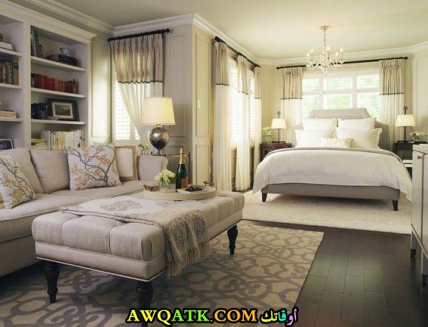 غرفة نوم فخمة وشيك