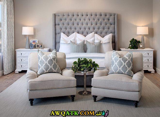 غرفة نوم حديثة وشيك