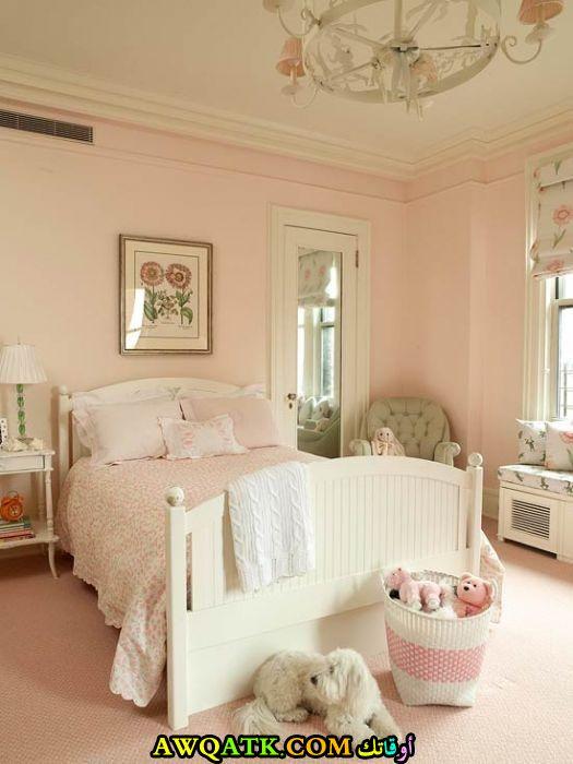 غرفة نوم كلاسيك للبنات جميلة