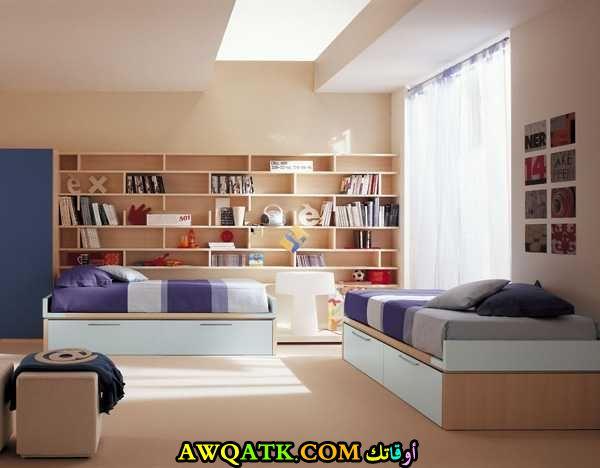 غرفة نوم لطفلين في منتهي الجمال