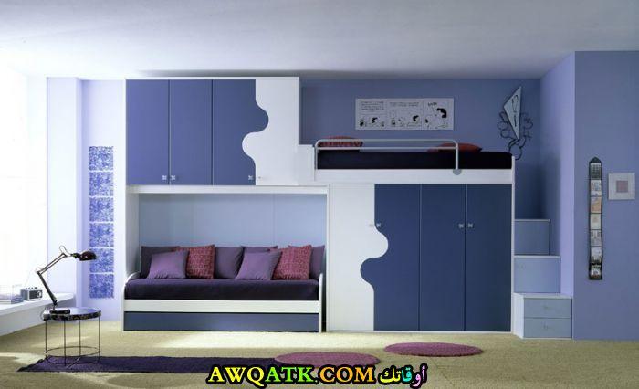 غرفة نوم لطفلين دورين