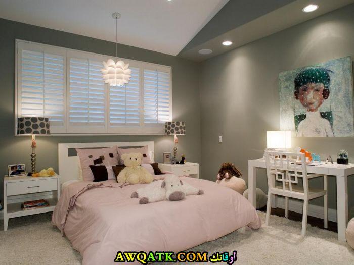 ديكورات غرف نوم للبنات جميلة جداً