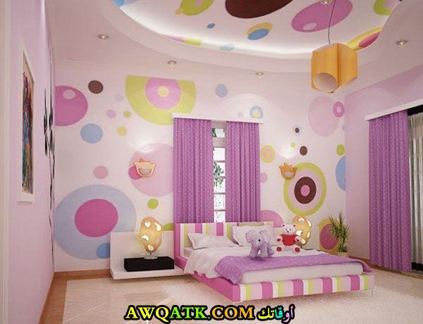 غرفة نوم للبنات روعة 2017