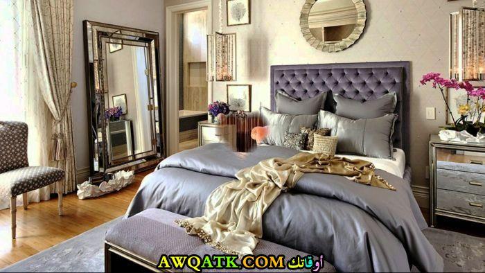 غرفة نوم ناعمة وهادئة