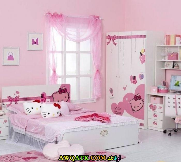 غرفة نوم هيلو كيتي رائعة