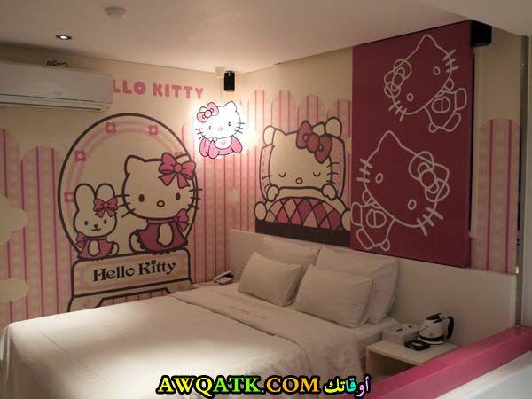 غرفة نوم هيلو كيتي شيك