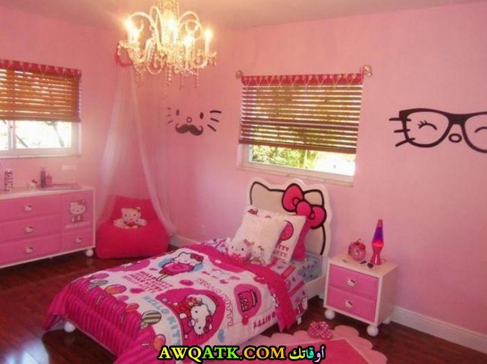 غرفة نوم هيلو كيتي جميلة