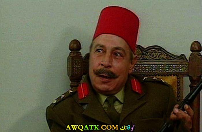 صورة جديدة للفنان رؤوف مصطفى داخل مسلسل