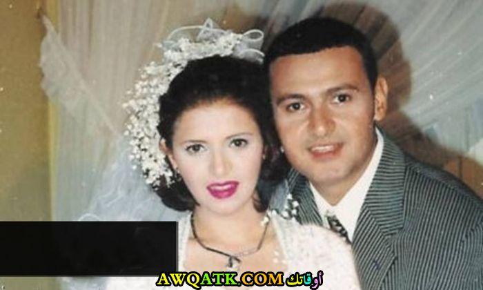 صورة عائلية للفنان رامز جلال مع زوجته