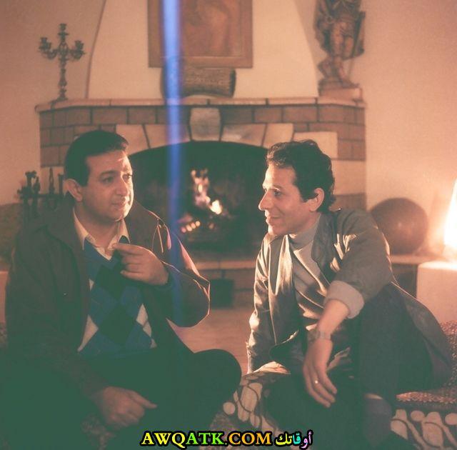 صورة الفنان المصري رشوان سعيد داخل فيلم