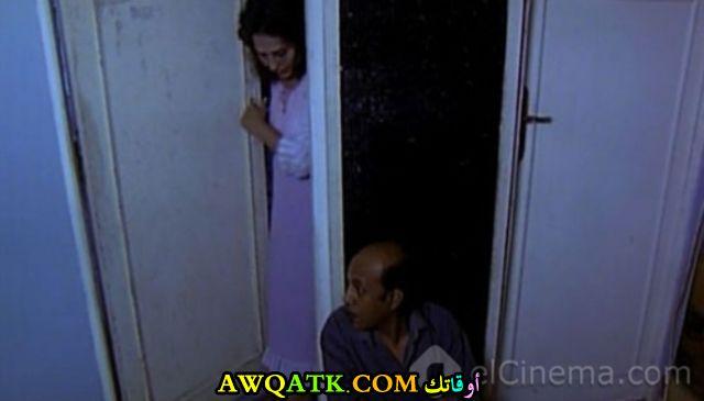 صورة الفنان المصري رمضان خاطر داخل فيلم