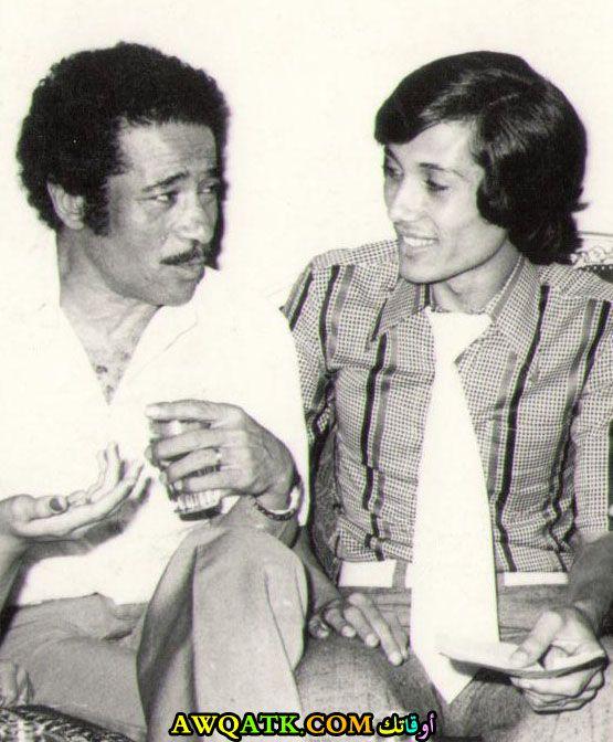 صورة قديمة للممثل علي الحجار