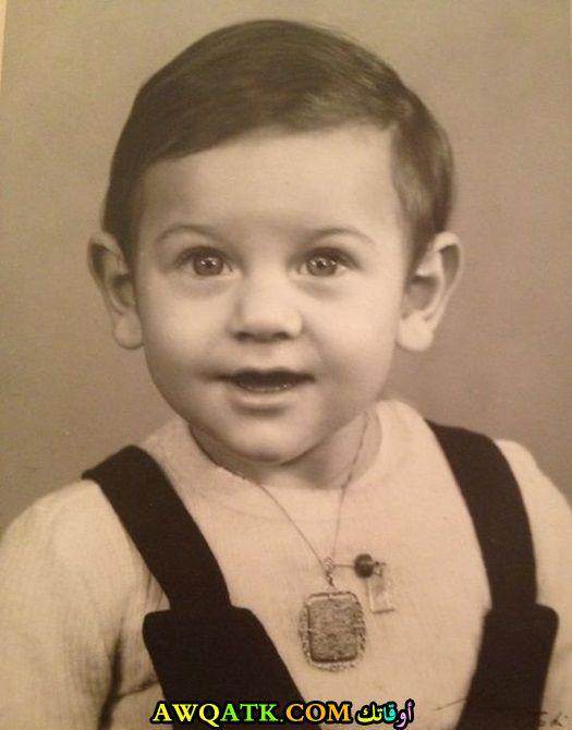 صورة الفنان المصريعمرو يوسف وهو طفل صورة قديمة نادرة