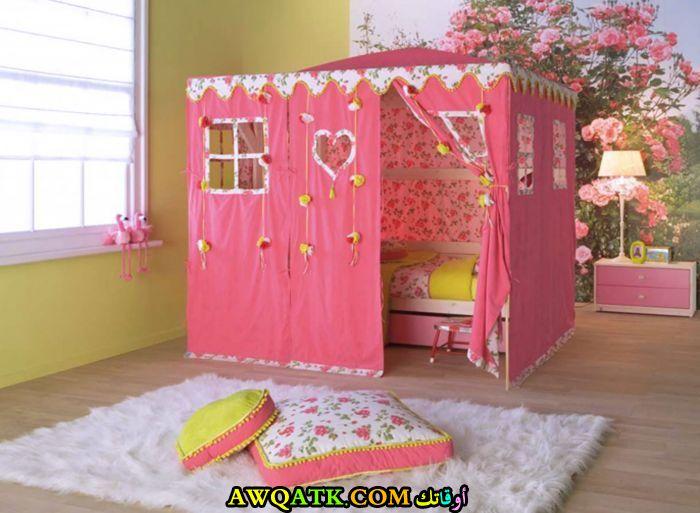 غرفة نوم أطفال بتصميم أمريكي جميلة جداً