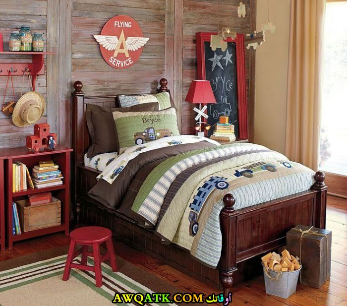غرفة نوم تصميم أولادي روعة