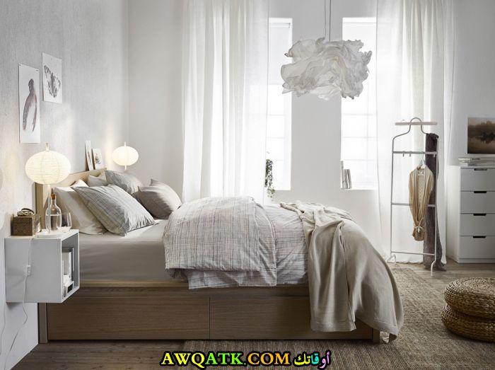 غرفة نوم تصميم أيكيا جميلة