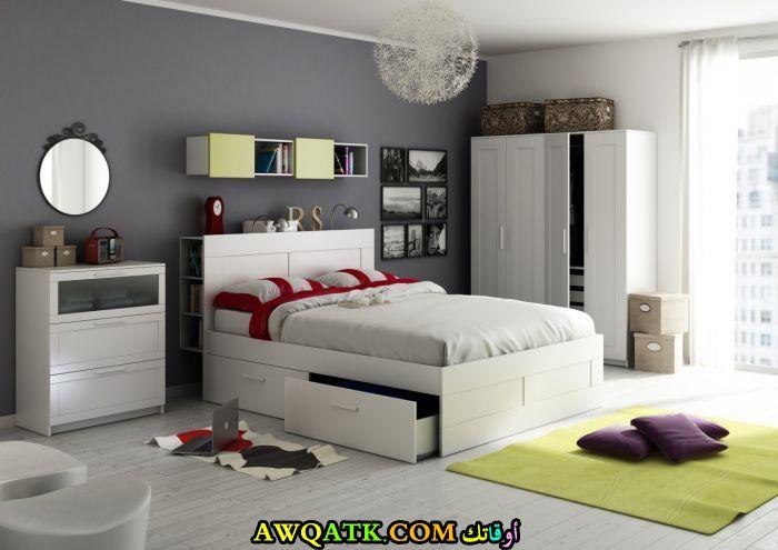 غرفة نوم تصميم أيكيا رائعة