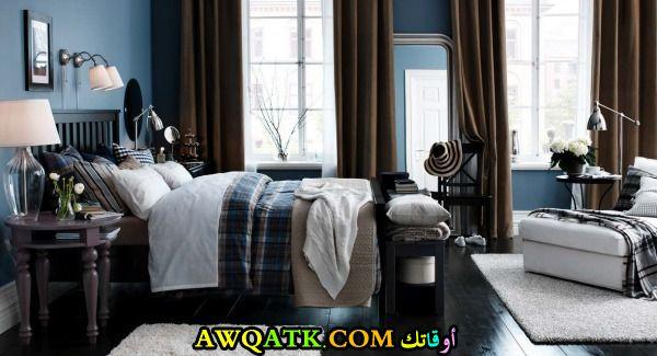 غرفة نوم جميلة وجديدة