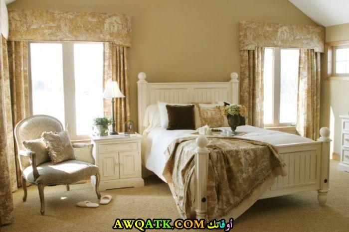 غرفة نوم تصميم فرنسي روعة