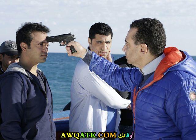 صورة الفنان المصري مجدي الباسوسي داخل فيلم