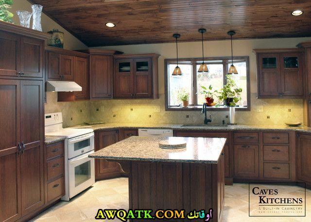 مطبخ خشب رائع جديد