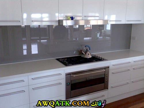 مطبخ دبل جلاس شيك جداً ورائع