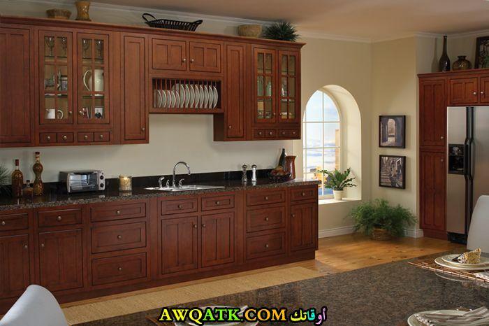 مطبخ خشب بدورين