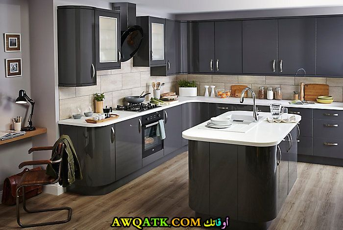 مطبخ جديد جميل بدورين