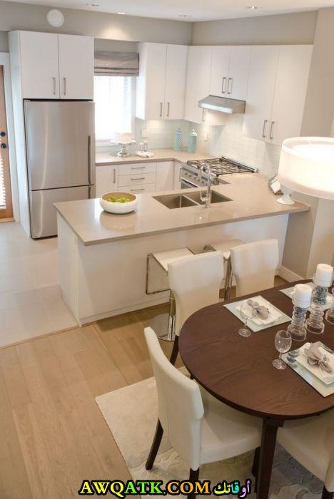مطبخ يناسب الاماكن الضيقة جديد رائع