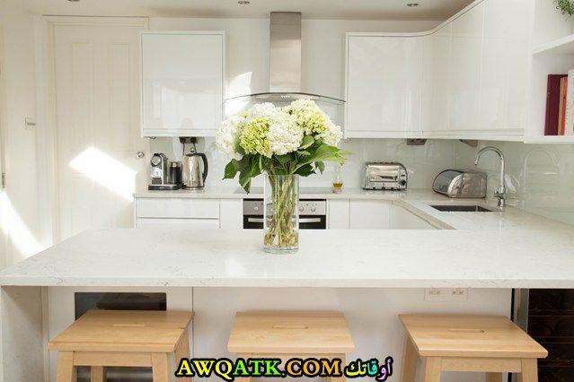 مطبخ جميل وعصري للأماكن الصغيرة