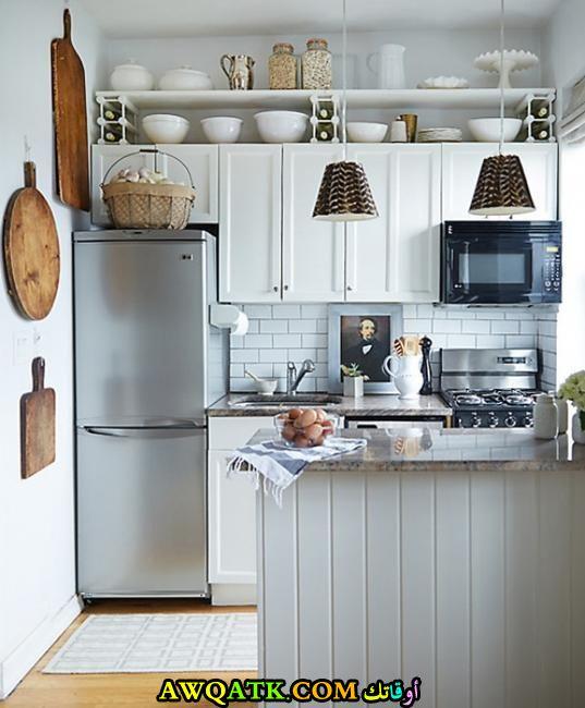 مطبخ أمريكي كلادينج جميل جداً