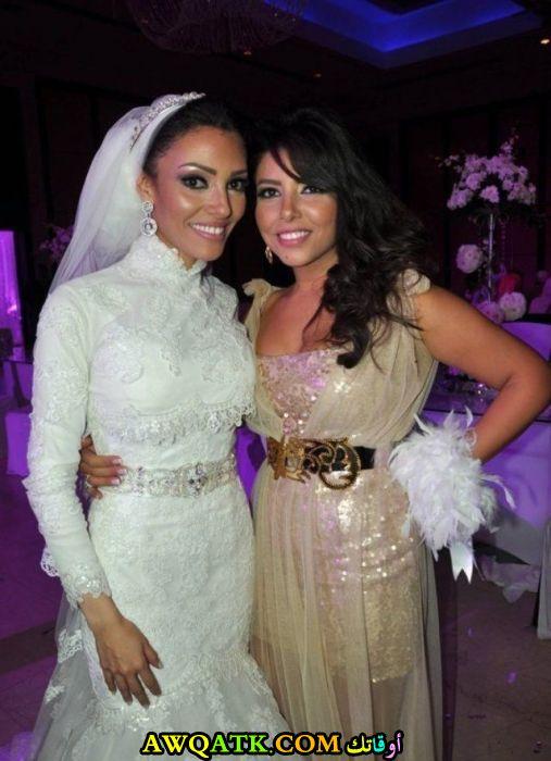 نادية مصطفى في حفل زفاف بنتها