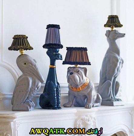 أباجورة تماثيل علي شكل حيوانات