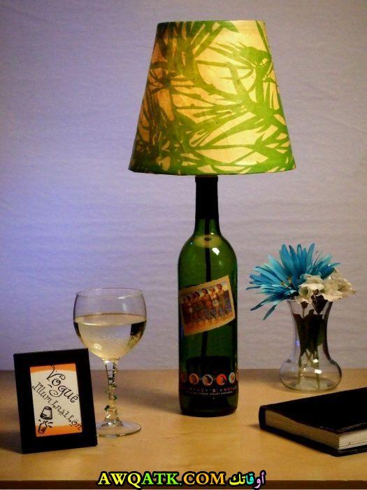أباجورة زجاج جميلة جداً