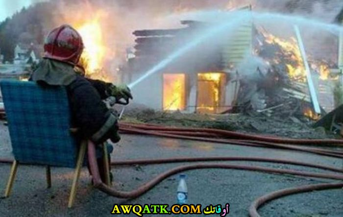 إطفاء حريق