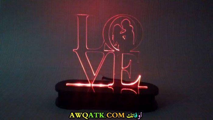 أباجورة حب رومانسية شيك جداً وجميلة