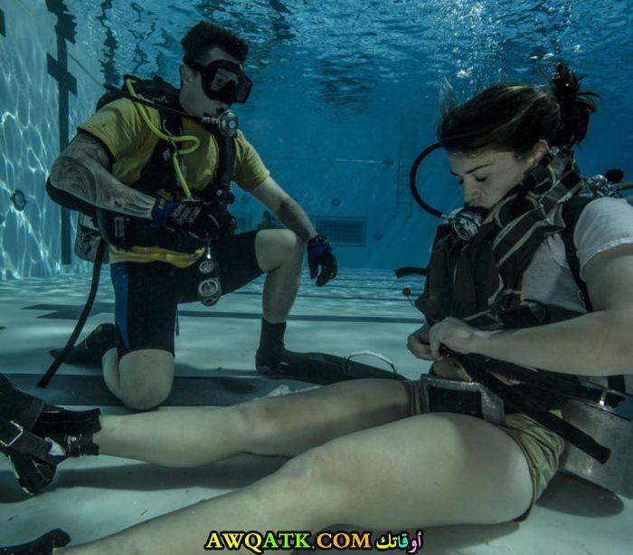 تدريب تحت الماء