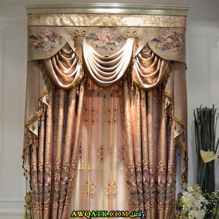 ستارة دانتيل لغرفة النوم فخمة جداً وجميلة