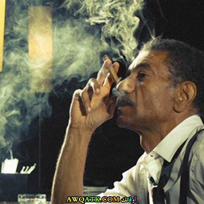 أحدث صورة للفنان المصري سيد رجب