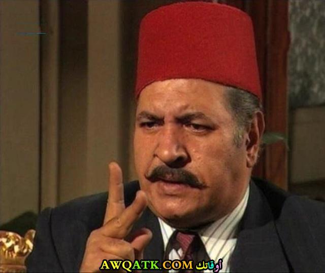 صورة للفنان سيد عبد الكريم داخل مسلسل