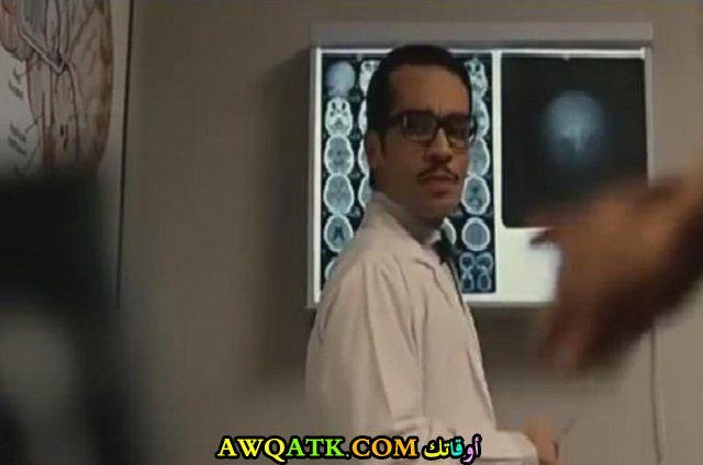 صورة الفنان المصري شادي خلف داخل فيلم
