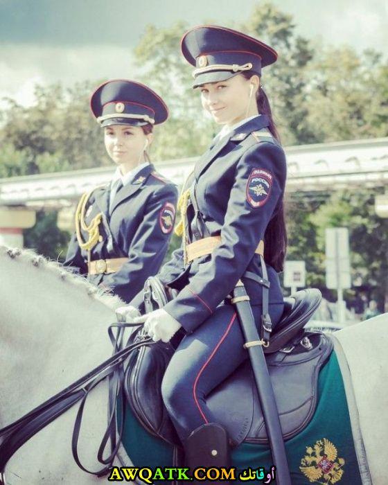 شرطيات روسيات جميلات