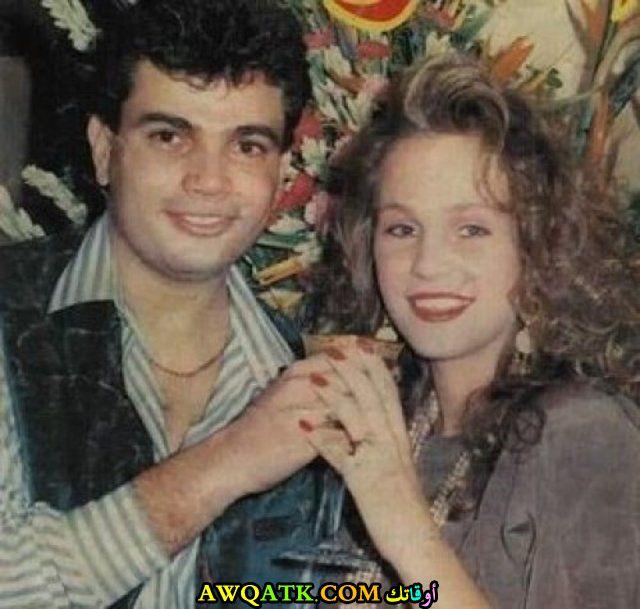 عمرو دياب مع زوجته السابقة شيرين رضا