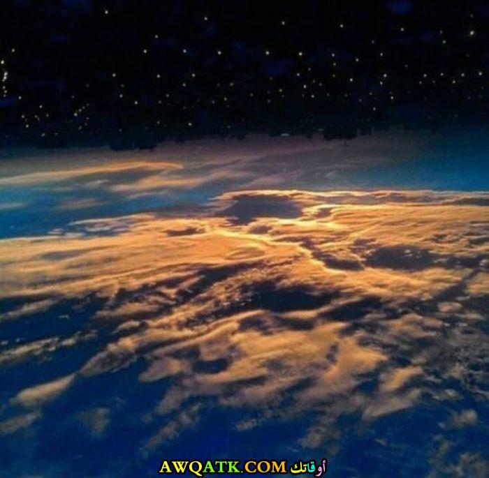 صورة مذهلة لكوكب الأرض