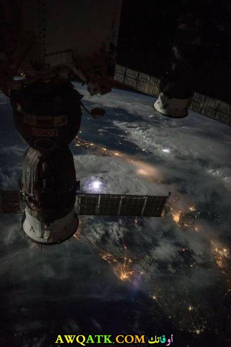 صورة من قمر صناعي
