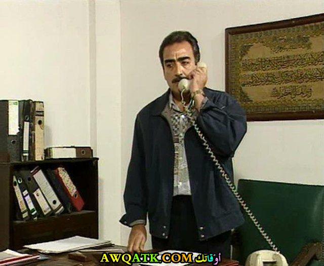 صورة قديمة للممثل عبد الرحيم حسن