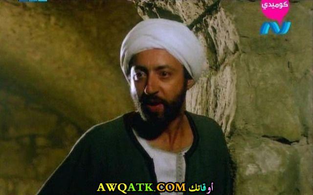 صورة قديمة للممثل عبد العزيز مخيون