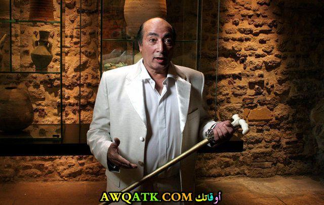 صورة جديدة للفنان عبد الله مشرف داخل مسلسل